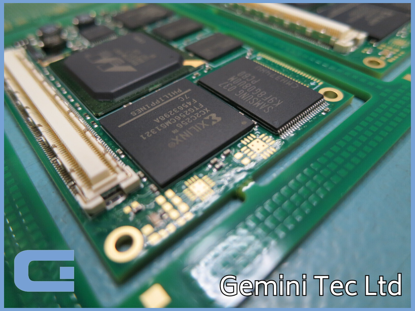 Complex PCBA at Gemini Tec Ltd