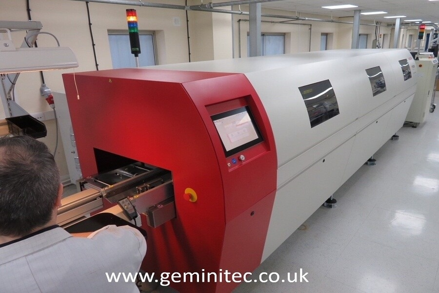 2nd Asscon Vapour Phase Reflow Oven at Gemini Tec - September 2018